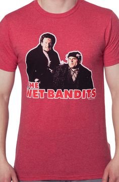 Marv and Harry Wet Bandits Shirt: Home Alone Mens T-shirt