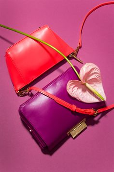 FRESH & FRUITY: Statement shoes and accessories in juicy colors.