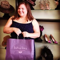 Of course @megstewou is my first customer!  #betsykingshoes #paseo