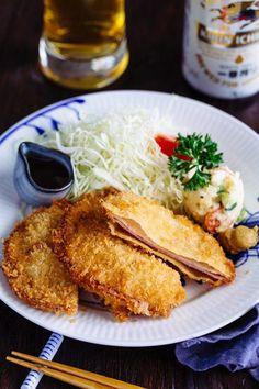 Ham Katsu ハ ム カ ツ    Könnyű japán receptek a JustOneCookbook.com-on