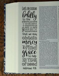 HEBREWS  4 Bible journaling printable templates illustrated