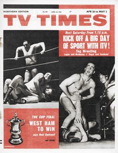 A gallery of ABC shows that made the cover of the TVTimes in the Abc Shows, Old Tv Shows, Next Saturday, Tv Times, Classic Tv, Old Pictures, Growing Up, Fa Cup, 1960s