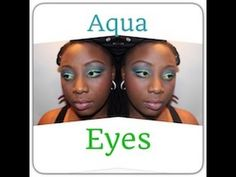 mermaid MAKEUP TUTORIAL | AQUA BLUE GREEN eyes W/ Urban Decay ELECTRIC p...