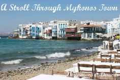 A day in Mykonos Town in Mykonos, Greece