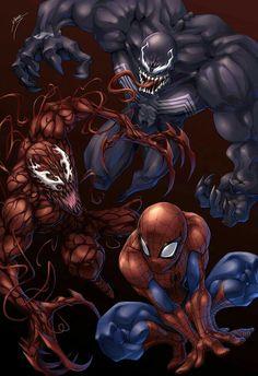 Homem Aranha,venom e carnificina