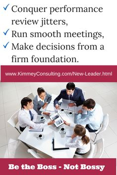 I've got a workshop for you, if you are looking for way to communication more effectively and more comfortable in your position as a new leader/manager/boss. Register at: www.kimmeyconsulting.com/new-leader.html