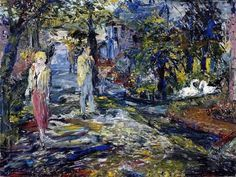 High Spring tide Cork, Jack Butler Yeats - the youngest brother of the poet William Butler Yeats). Jack B, William Butler Yeats, Poet, Brother, Painting, Spring, Painting Art, Paintings, Painted Canvas