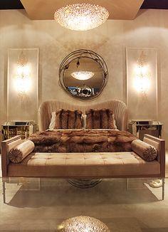 KOKET at iSaloni | Luxus-Vintage-Schlafzimmer | http://wohnenmitklassikern.com/