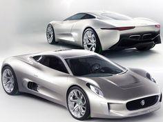 Jaguar Sport Cars - Jaguar C-X75 EREV Electric Supercar -Concept