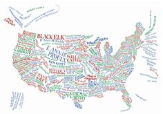 literary map of the US