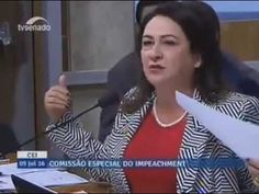 Kátia Abreu detona Comissão do Impeachment