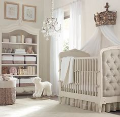Lovvvve! Textured Plush Animal Rocker | Nursery Accessories | Restoration Hardware Baby & Child