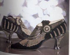 1925 Deco Shoes from   https://www.facebook.com/pages/Boylerpf-Antique-Vintage-Jewelry/105312012718