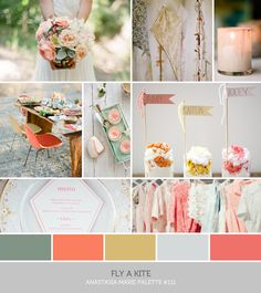 spring pastels #wedding #gamos