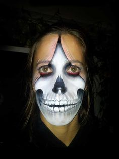 Roch BAMBOU - Bodypainting Maquillage Paris Face Painting Halloween