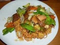Cafe Soya Special Mix Veggie Mock Crispy Noodles
