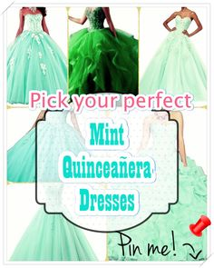 How you can pick out Mint Quinceanera dress for the Quinceanera party -- the standard Latin American ritual that signifies the passage of a woman from childhood to adulthood. Mint Quinceanera Dresses, Quinceanera Party, Your Perfect, Special Day, Most Beautiful, Childhood, Gowns, Latin America, Disney Princess