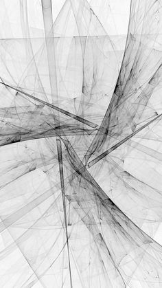Triangle Art Abstract Bw White Pattern #iPhone #6 #wallpaper