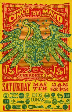 Cinco De Mayo Poster & Billboard - Firecracker Press - The St. Louis Egotist