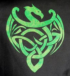 Dragon Quilt | Easy Celtic Dragon Quilt Applique Pattern Design