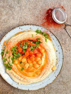 Hvordan lage hummus slik de gjør i Midt-Østen