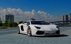 Lamborghini Aventador Auto blanco - Cochesdelujo | Las Mejores Marcas Y Los Mejores Coches De Lujo
