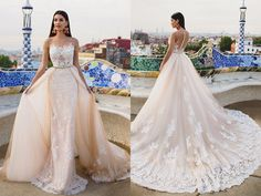 20 Sexy but Classy Wedding Dresses That Will Take His Breath Away!