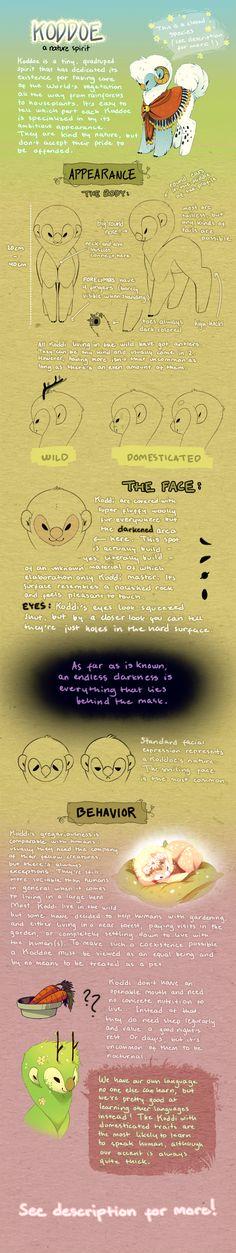 Koddoe: Species Guide by Jeniak.deviantart.com on @DeviantArt