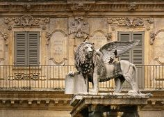 Mark's Lion, symbol of the Republic of Venice Republic Of Venice, The Republic, Festivals Around The World, Venice Italy, Verona, Lions, Art Photography, Lion Sculpture, The Incredibles
