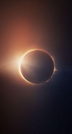 Un eclipse. Un eclipse. Planets Wallpaper, Wallpaper Space, Apple Wallpaper, Galaxy Wallpaper, Screen Wallpaper, Wallpaper Backgrounds, Space Planets, Space And Astronomy, Galaxy Space