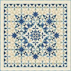 Have a look at this great quilt ideas - what a clever concept Star Quilt Blocks, Star Quilt Patterns, Star Quilts, Patchwork Patterns, Two Color Quilts, Blue Quilts, White Quilts, Quilts Online, Quilt Blocks