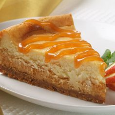 White Caramel Cheesecake  So easy even I can make it!