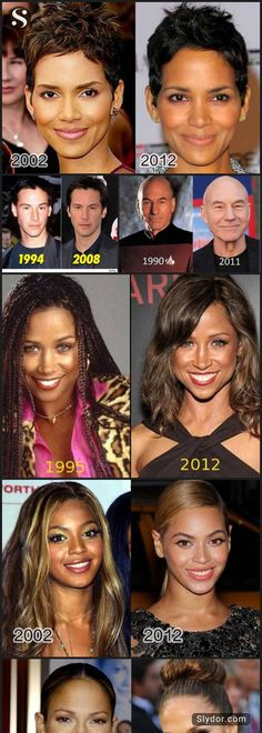These famous people seems ten years younger than their actual age. #celebrities #aging