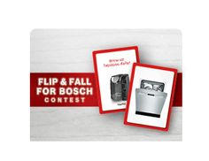 I just entered the Flip & Fall for Bosch Contest!