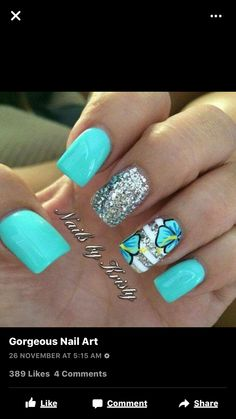 Beautiful nails might put you in an instant good mood. No matter how old you are, decorating your nails will always make you look more spirit and vitality. Flower Nail Designs, Pretty Nail Designs, Nail Art Designs, Nails Design, Fancy Nails, Trendy Nails, Diy Nails, Fabulous Nails, Gorgeous Nails