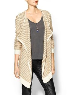 Piperlime | Textured Boyfriend Cardigan