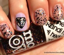 funky swag nails !!!
