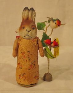 Bunny with apron.