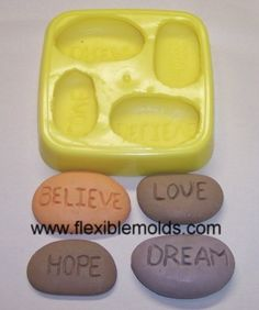 Inspirational soap molds