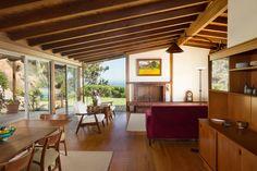 Herb Kameon Designed These Mid-Century Malibu Digs Mid Century Decor, Mid Century Style, Malibu For Sale, Century Hotel, Midcentury Modern, House Design, Architecture, Herb, Carpentry