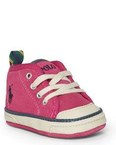 Carlisle II Mid Sneaker - Shoes Baby Girl 0 - 24 Months - Ralph Lauren UK