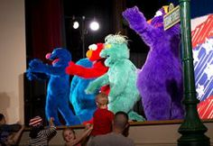 The Sesame Street/USO Experience for Military Families offers a fun way for service members and their families to cope with the challenges of military life. (U.S. Marine Corps photo by Sgt. Melissa Karnath/Released)