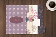 Printable Dividers with Tab for Filofax Size A5 di GraphicWithLove