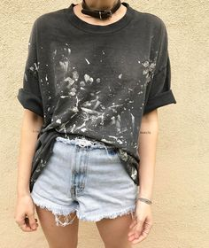 Thrash and burn  distressed destroyed beat-up goodness up for grabs now in our #vintage section!