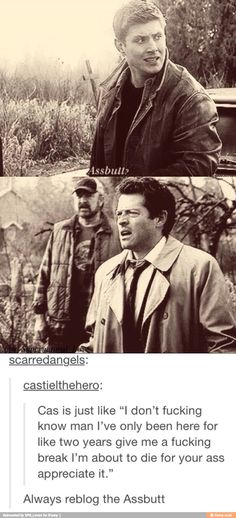 haha supernatural