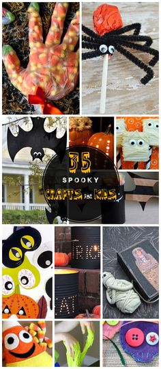 35 DIY Halloween Crafts for Kids to Make