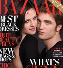 Twilight comes to Harpers Bazaar