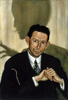 Christian Schad, Portrait of Dr. Haustein, 1928, Museo Thyssen-Bornemisza, Madrid