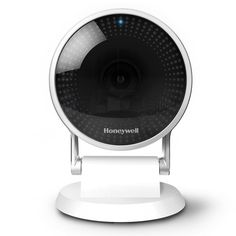 Honeywell Home Wired Indoor Wi-Fi Security Standard Surveillance Camera Intelligent Audio Detection Cloud Storage and SD Card, White Security Surveillance, Security Alarm, Security Camera, Video Security, Security Tips, Security Service, Free Cloud Storage, Carte Sd, Wireless Home Security Systems