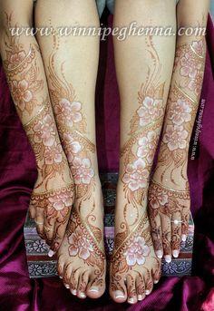 Bridal henna / mehndi by Kim Brennan of Hasina Mehndi & Body Art --- Webpage: http://www.winnipeghenna.com/ Facebook Fanpage: www.facebook.com/ NEW! Mardi Gras Face Art www.facebook.com/